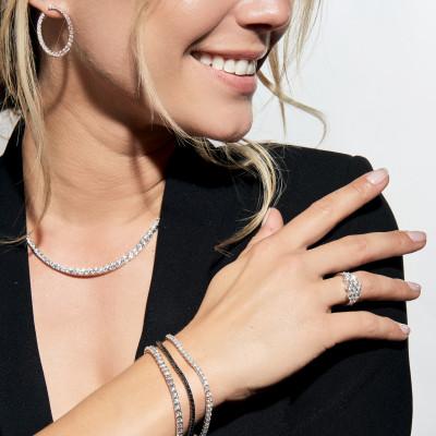Bracelet Gigi Clozeau Résine Blanche