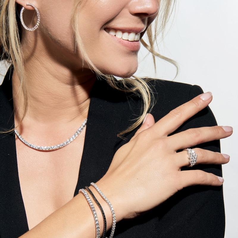 Gigi Clozeau Bracelet résine rouge rubis